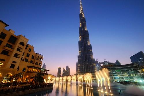 Dancing Fountains Dubai