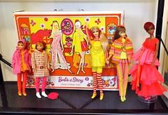 IT'S HERE! (ModBarbieLover) Tags: barbie stacey tnt 1968 sleep case skipper julia display mod
