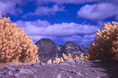 Kasprowy Wierch w podczerwieni (World In Infrared) Tags: giewont w podczerwieni infrared ir qbot kasprowy wierch zakopane góry tatry podczerwień krzyż tpn mountains