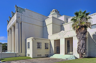 Scottish Rite Temple, 471 NW 3rd Street, Miami, Florida, USA / Architect: Kiehnel & Elliott /  Date of Construction: 1922-1924 / Architectural Style: Art Deco