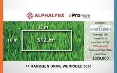 14 Harogen Drive, Werribee VIC
