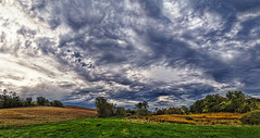 IMG_5206-08Ptzl1scTBbMLGER (ultravivid imaging) Tags: ultravividimaging ultra vivid imaging ultravivid colorful canon canon5dmk2 clouds stormclouds sunsetclouds fields farm autumn scenic rural rainyday landscape evening sky pennsylvania pa