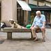 Le vieux et son chien