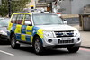 BX14EOH / CAY Mitsubishi Shogun of the Met Police in London (Ian Press Photography) Tags: police 999 emergency service services officer london bx14eoh cay mitsubishi shogun met metropolitan