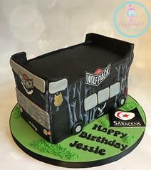 Saracens Bus Cake