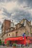 (734/17) Le Tire-Bouchon (Pablo Arias) Tags: pabloarias photoshop photomatix capturenxd cielo nubes edificio creperie negocio chimenea buhardilla paris francia