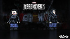 Jessica Jones - Marvel's The Defenders (McLovin1309) Tags: jessica jones krysten ritter defenders neflix marvel superhero mcu comic toy comics toys custom lego minifig minifigure figure sculpt