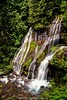 Panther Creek Falls - This fall is actually two falls in one. The veil on the left falls 102'/31m originating from a spring while the right more vigorous branch comes from Panther Creek itself. Wind River Valley, Skamania County Washington, USA         #E (raymanningphotography) Tags: washington hdrphotography landscape hdr photography raymanningphotography northamerica usa landscapephotography exposureblending panthercreekfalls panthercreekexposureblendinghdrhdrphotographylandscapelandscapephotographynorthamericapanthercreekpanthercreekfallsphotographyraymanningphotographyusawashington