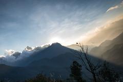 Chiều Về (trieu_van_194) Tags: landscape photography photoshop dawn sun ray sunray mountain light sundown vietnamlandscape vietnamtravel
