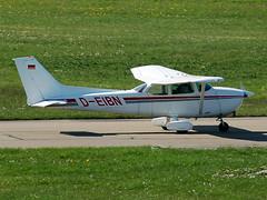 D-EIBN Cessna 172N Skyhawk (johnyates2011) Tags: friedrichshafen aerofriedrichshafen deibn cessna skyhawk cessna172skyhawk cessna172