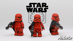 Captain Cardinal (McLovin1309) Tags: captain cardinal phasma star wars first order stormtrooper officer force awakens custom lego minifig minifigure brickarms