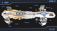 ADVENTURER (Xavier CLEMENT) Tags: ship space espace sciencefiction lego shiptember vaisseau