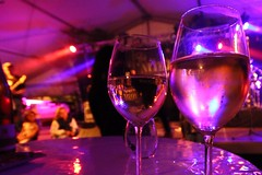 Have a great evening! (Nathalie_Désirée) Tags: glass wine party celebration happy atmosphere people bokeh drink sign table reflection light color evening music band sigma1020mm canoneos600d mood spotlights dasfest heilbronn beilstein badenwuerttemberg germany autumn amalienhof