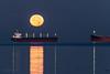 Lunar Lunacy 🚑😜 Vancouver, BC (Michael Thornquist) Tags: fullmoon harvestmoon fullharvestmoon luna englishbay englishbaybeach seawall beachave beachavenue palmtrees reflection vancouver myportcity 604now photos604 explorebc explorecanada ilovebc britishcolumbia pacificnorthwest pnw canada 500px