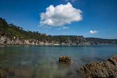 Tranquility..... (khan.Nirrep.Photo) Tags: breizh bretagne bleu finistère falaise rocks rocher rochers rock canon ciel mer sky seascape sea