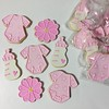 (sarab_cookies) Tags: baby babyshower shower babyboy babygirl onesie bottle rattle babyblocks teddybear rubberduck custom cookies sugarcookies decoratedcookies party events baking dessert bibs