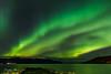Iceland 2017 - Northern lights over Grenivík [EXPLORED] (cesbai1) Tags: grenivik northern lights light aurore boreale aurora borealis is iceland islande islanda islandia green vert yellow jaune eyjafjordur eyjafjörður sea mer fjord 2017 sony a7rii a7rmk2 inexplore explored explore