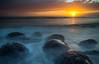 Surreal Sunset (dezzouk) Tags: bowlingballbeach schoonergulch pointarena california coast gualala dusk pacific
