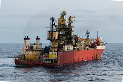 Deep Pioneer (SPMac) Tags: deep pioneer technip fmc flexiblelay construction subsea smit danube shuttle anatoliy zheleznyako lash ship oil gas offshore ghana ten tullow