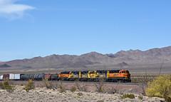 Cadiz Turn (GRNDMND) Tags: trains railroads bnsf locomotive emd gp60m gp60 mojavedesert pisgah california