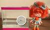 Laranja e os laranjinhas (gomides1) Tags: betta fish strawberryshortcake orange laranjinha boneca doll peixinho