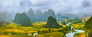 Ngoc Con,Cao Bang in the harvesting season, 0917