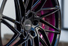 Custom Ace Alloy Driven (ACEALLOYWHEEL/AMF FORGED) Tags: acealloy acealloywheel acewheels driven d716 purple candy gloss black 1920 aftermarket wheels