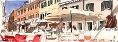 171007venezia02 (Vincent Desplanche) Tags: venise venezia sketching sketch croquis urbansketchers italia italy aquarelle watercolor matiteinviaggio seawhiteofbrighton seawhitesketchbook