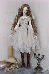 Autumn Warm (AyuAna) Tags: bjd ball jointed doll dollfie ayuana design handmade ooak clothing clothes dress set fantasy romantic style sadol love60 yena whiteskin
