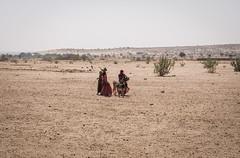 Rajasthan - Jaisalmer - Desert Safari traditional villiage-13