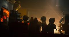 midnight sandfest (jooka5000) Tags: sandpeople cinematic legography photography starwars lego frame tuskenraiders store mart midnight snack moseisley imagination movie cinema scene