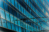 Glasfront - window front (peco54) Tags: glas glass fenster blau blue window reflection reflektion frankfurt messe linescurves