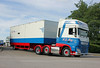 TV018144-Manchester. (day 192) Tags: manchester manchestercityfootballclub mcfc etihadstadium greatnorthwesttruckshow truckshow transportrally transportshow truck wagon lorries lorry daf xf dafxf mjmay mjmaytransport pn16bhd