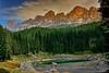 Latemar (giannipiras555) Tags: dolomiti lago verde colori landscape nuvole