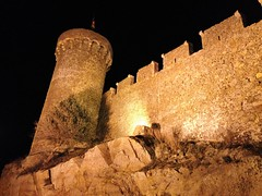 Una noche en Tossa de Mar (Ester Arrebola Bravo) Tags: noche tossa girona castillo