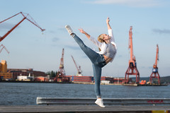 Gabriella Sundh (Modell) (Mathias Uhlán) Tags: gabby gabriella sundh photoshoot model dance dancer pointe göteborg gothenburg porträtt portrait ballet