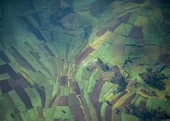 patchwork (andreasbrink) Tags: drc landscape aereal virunga agriculture fccmanaltered