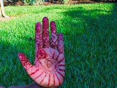 Hena (sirajparmer) Tags: hand henna menhdi fibonacci spiral