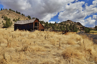 Old Barn - John Day Fossil Beds - Oregon