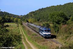 A1A A1A 68540 sur train spécial Orléans Le Puy vers Domeyrat (philippedreyer1) Tags: