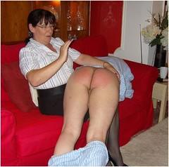 bedtime spanking (Daniela Hausfrau) Tags: spanking spanked spank handspanking mistress miss madame mommy ma´am mature blouse bluse bestrafung punishment pyjama strict streng strafe bedtime otk aunt tante governess gouvernante naughty nanny devot discipline disziplin dominant submissive sub