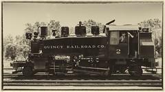 Quincy No. 2 Side View (Charlie Day DaytimeStudios) Tags: california fremontca locomotive nilesca nilescanyonrailroad nilesrailroad photographer railequipment railroad steamlocomovtive sunolca trains