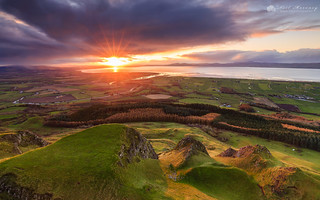 Binevenagh Sunset.