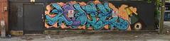 No Parking (radargeek) Tags: charleston sc southcarolina downtown graffiti panorama champagne spumante clubs