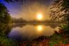 let there be light (DeZ - light painter) Tags: guelphcanada royalcitypark reflection sun sunrise colour nikon nikond610 nikkor nikkor1424mmf28 nature hdr sky trees dez