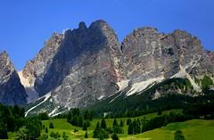 Dolomites in Cortina (annalisabianchetti) Tags: cortina mountains montagne dolomites dolomiti alps italy paesaggio landscape beauty travel veneto