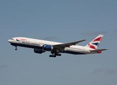 G-VIIS Boeing 777-236ER British Airways (corkspotter / Paul Daly) Tags: boeing 777 msn 29323 gviis 777236er ln206 ba baw british airways