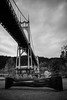 bound to the river (sebboh) Tags: carlzeiss35mmf2sonnar sonyrx1 cathedralpark saintjohns portland oregon pdx bw cityscape
