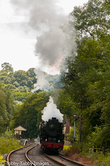 20170807-_CNH6967.jpg (bigbarney130) Tags: preserved staffordshire churnetvalleyrailway cvr consall historictransport train preservedsteam heritage 5197 s160 steamtrain nikond300 steam
