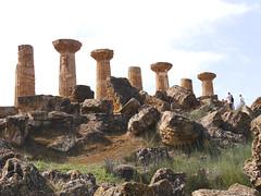 Temple of Hercules  -  Agrigento (Sicily) (rsilwar@yahoo.com) Tags: sicily sizilien italy templeofhercules reinhard silwar agrigento